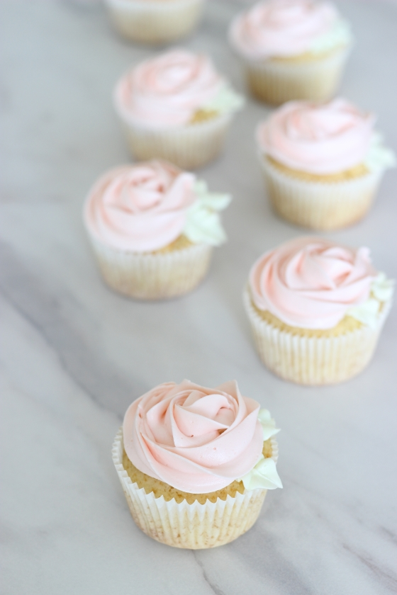 rose cupcake by petite homemade